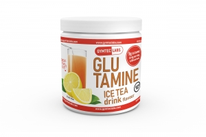 GLUTAMINA o smaku ice tea 400g